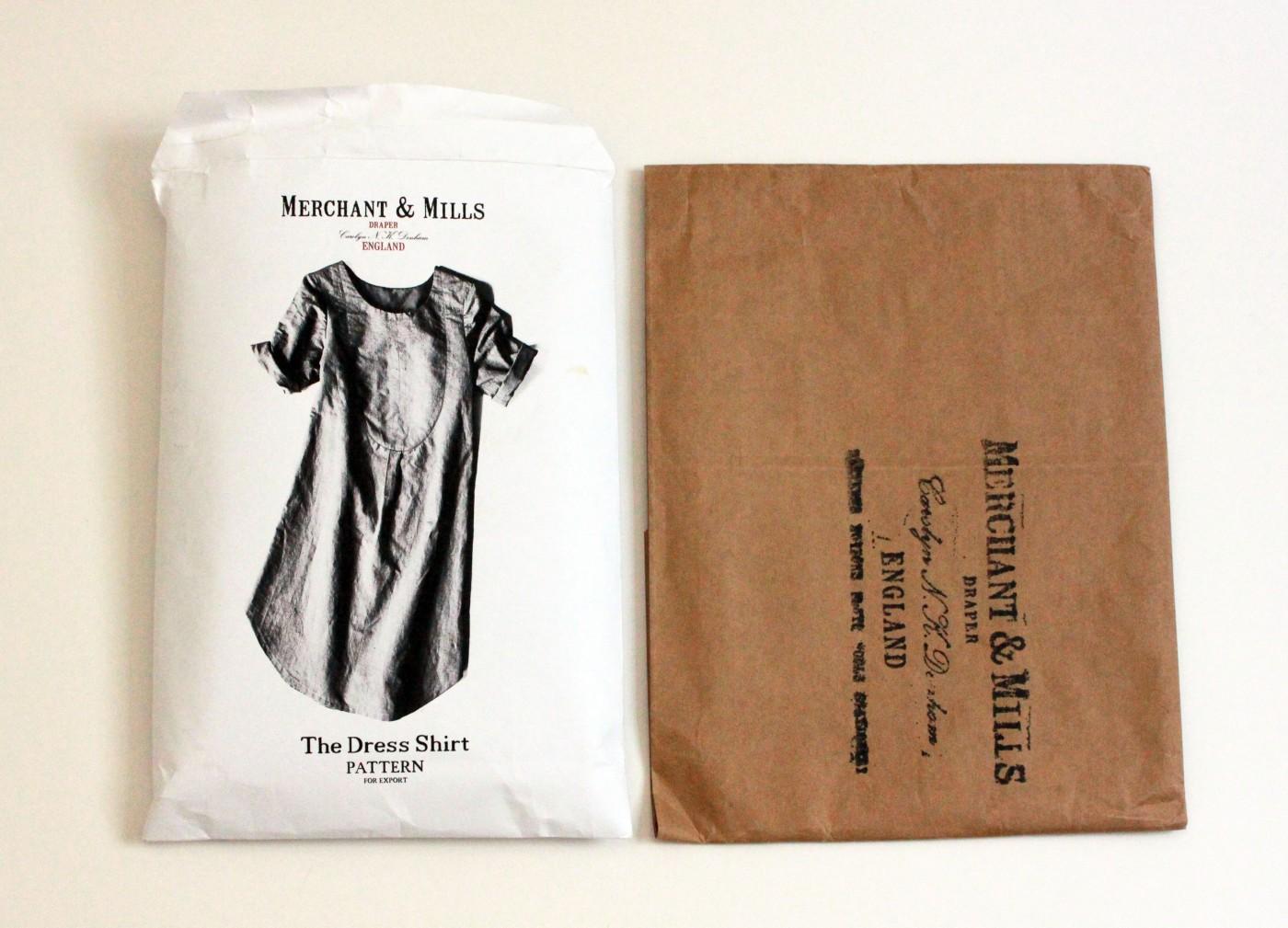 sew dress shirt