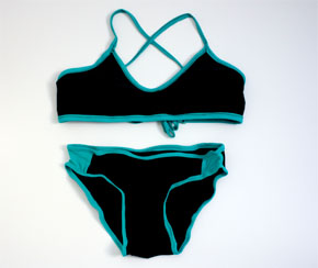 Activewear for the Beach: Sun Lover Bikini Top andBottom